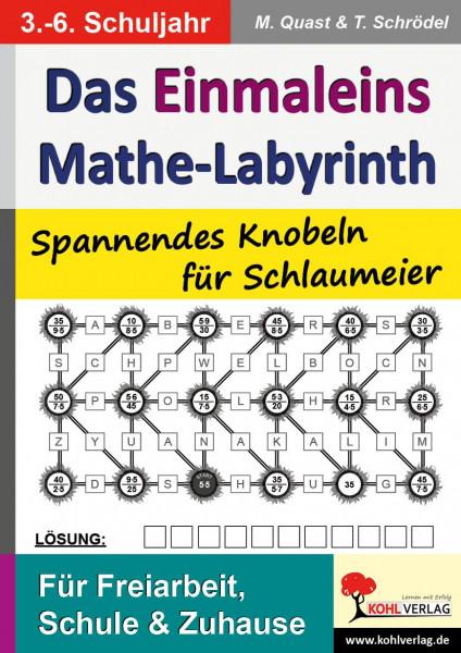 Das 1x1-Mathe-Labyrinth