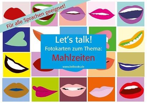 """Let's Talk! Fotokarten """"Mahlzeiten"""""""