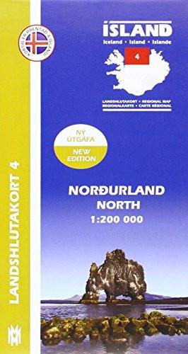 IRK 04 Nordurland / Nord-Island Regionalkarte 1 : 200 000
