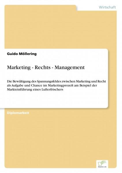 Marketing - Rechts - Management