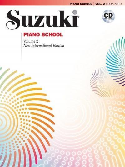 Suzuki Piano School 2 New International Edition