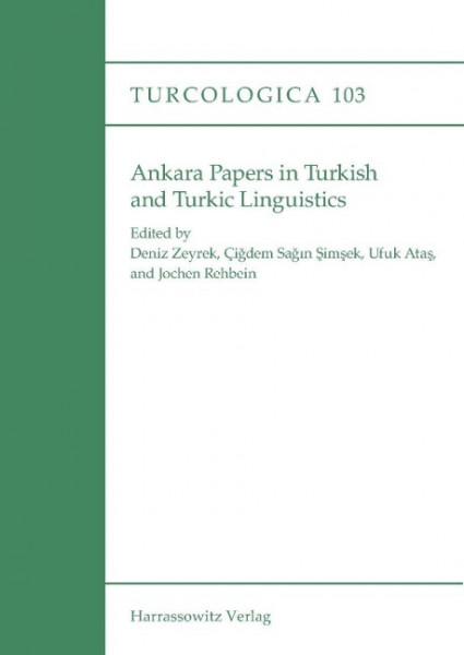 Ankara Papers in Turkish and Turkic Linguistics