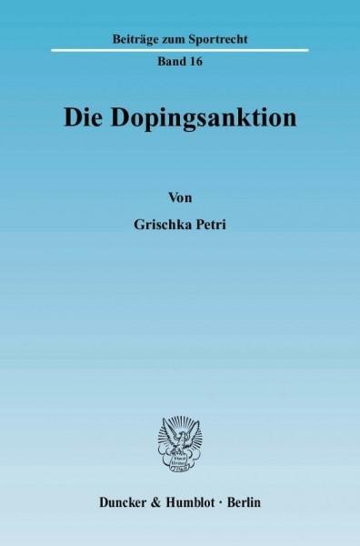 Die Dopingsanktion