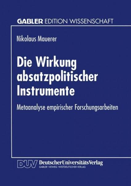 Die Wirkung absatzpolitischer Instrumente