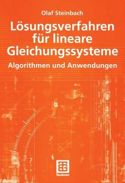 Lösungsverfahren für lineare Gleichungssysteme
