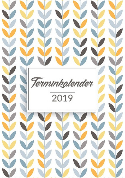 Terminkalender 2019 in A5