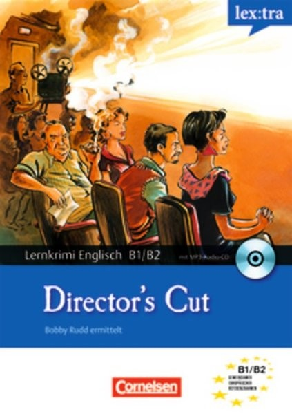 Lextra - Englisch - Lernkrimis: Bobby Rudd ermittelt: B1-B2 - Director's Cut: Krimi-Lektüre mit MP3-
