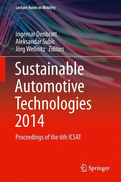 Sustainable Automotive Technologies 2014