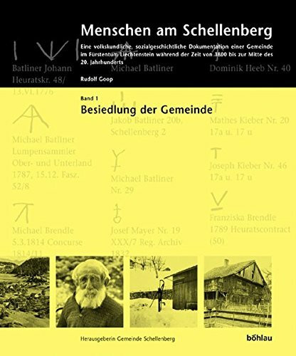 Menschen am Schellenberg Bd. 1