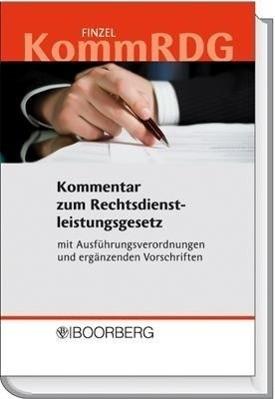 KommRDG - Kommentar zum Rechtsdienstleistungsgesetz