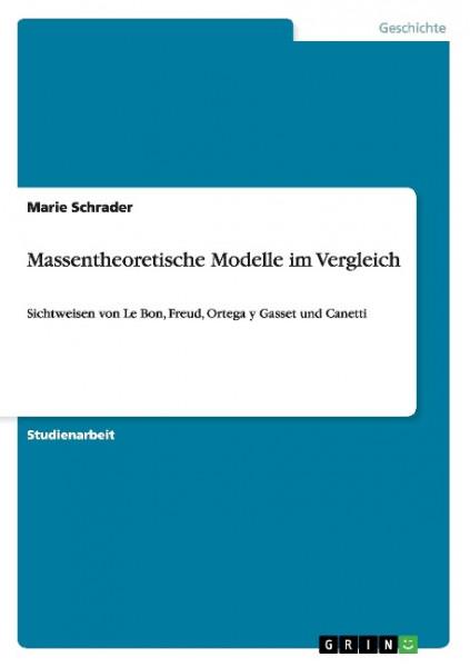 Massentheoretische Modelle im Vergleich