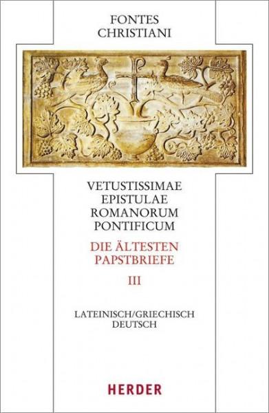 Vetustissimae epistulae Romanorum pontificum - Die ältesten Papstbriefe
