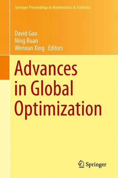 Advances in Global Optimization
