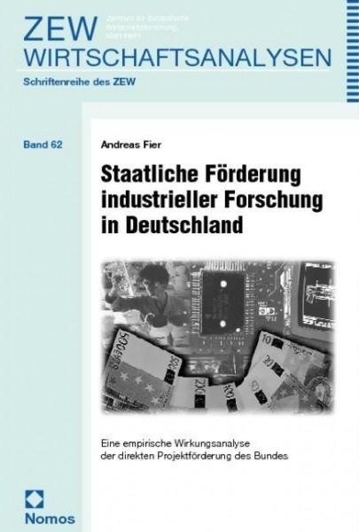 Staatliche Förderung industrieller Forschung in Deutschland