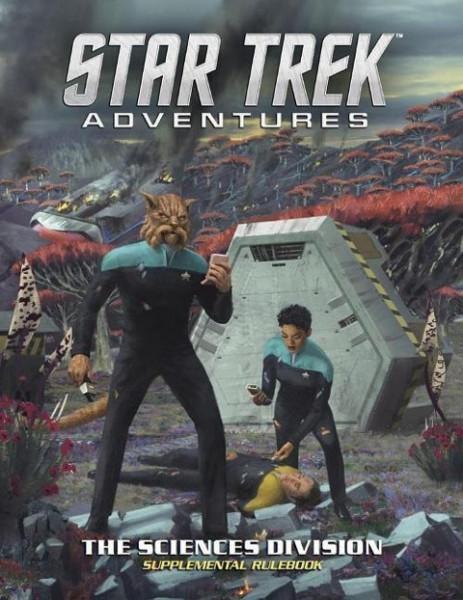 Star Trek Adventures: The Sciences Division (Star Trek RPG Supp., Hardback)