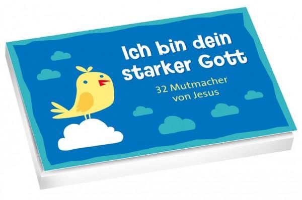 Ich bin dein starker Gott - Textkarten: 32 Mutmacher von Jesus