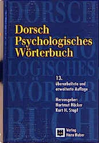 Psychologisches Wörterbuch