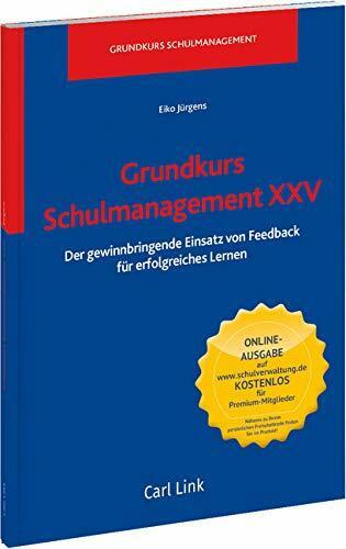 Grundkurs Schulmanagement XXV