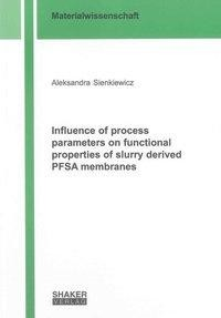 Influence of process parameters on functional properties of slurry derived PFSA membranes
