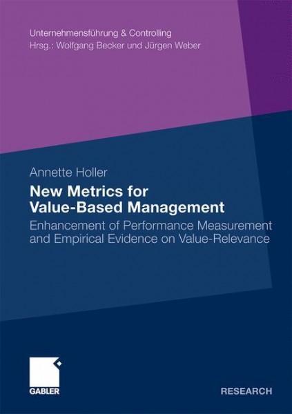 New Metrics Value-Based Management