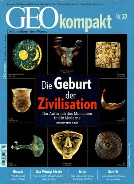 GEO kompakt / GEOkompakt 37/2013 - Zivilisation