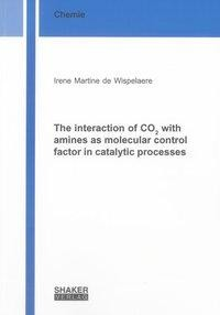 The interaction of CO2 with amines as molecular control factor in catalytic processes
