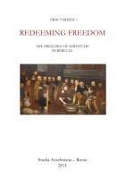 Redeeming Freedom
