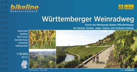 Bikeline Radtourenbuch Württemberger Weinradweg