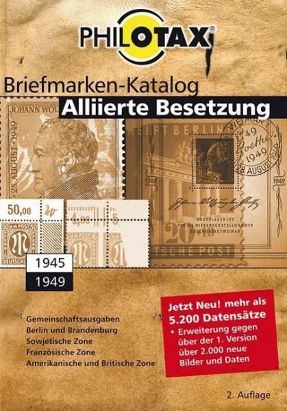 PHILOTAX GmbH: Alliierte Besetzung spezial Briefmarkenkatalolog