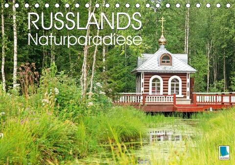 Russlands Naturparadiese (Tischkalender 2020 DIN A5 quer)