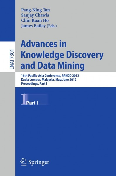 Advances in Knowledge Discovery and Data Mining, Part I