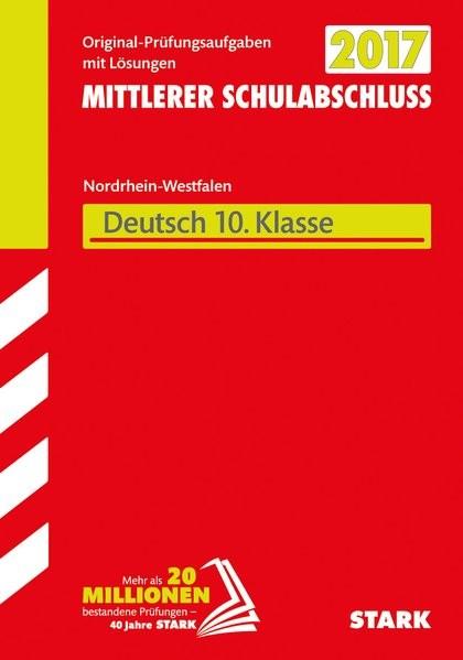 Mittlerer Schulabschluss NRW - Deutsch