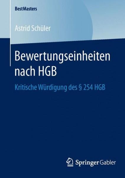 Bewertungseinheiten nach HGB