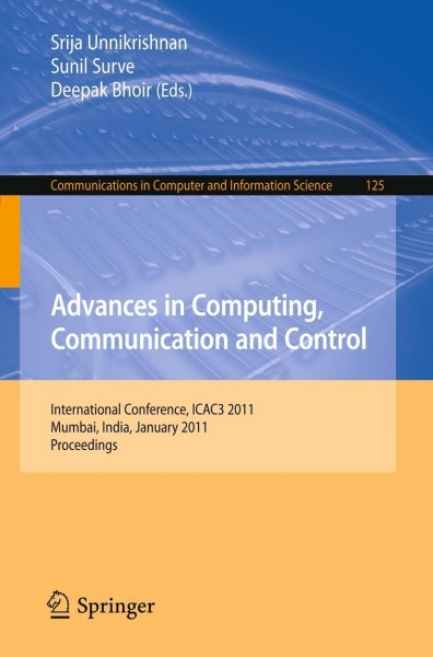 Advances in Computing, Communication and Control