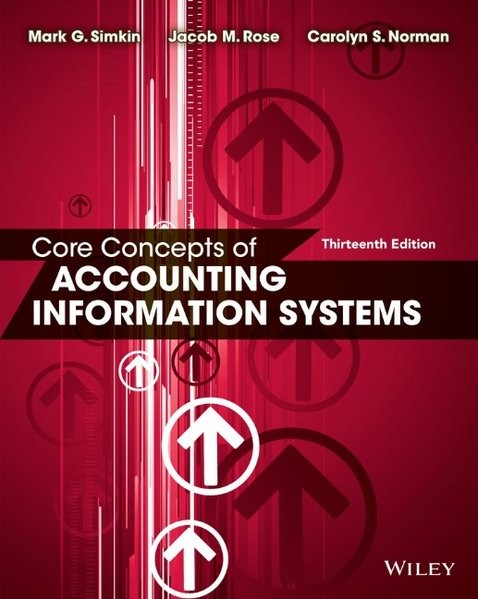 Core Concepts of Accounting Information Systems
