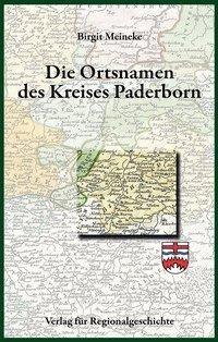 Die Ortsnamen des Kreises Paderborn
