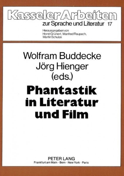 Phantastik in Literatur und Film