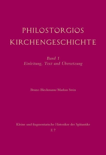 Philostorgios Kirchengeschichte