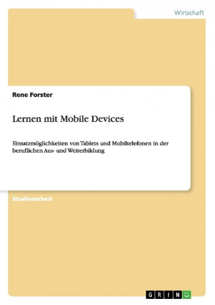 Lernen mit Mobile Devices