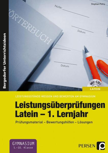 Leistungsüberprüfungen Latein - 1. Lernjahr
