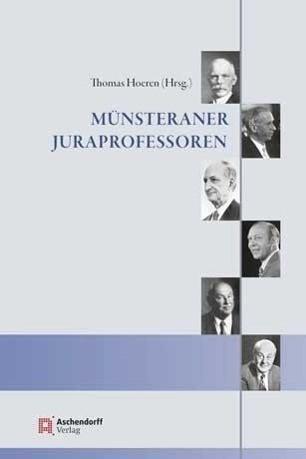 Münsteraner Juraprofessoren