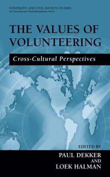 The Values of Volunteering
