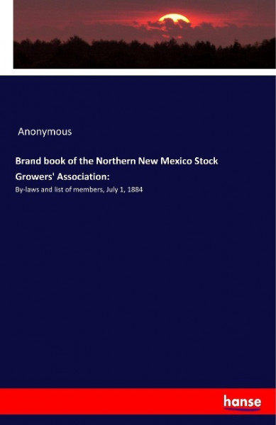 Brand book of the Northern New Mexico Stock Growers' Association: