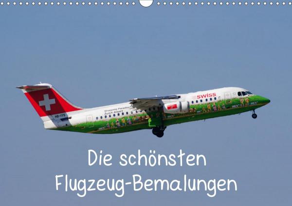 Die schönsten Flugzeug-Bemalungen (Wandkalender 2020 DIN A3 quer)
