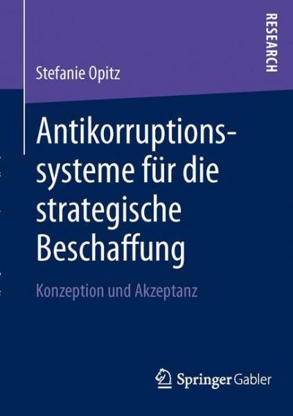 Antikorruptionssysteme für die strategische Beschaffung