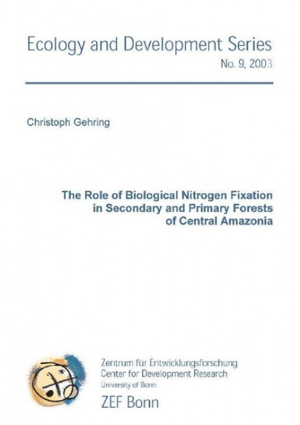 The Role of Biological Nitrogen Fixation in Secondary and Primary Forests of Central Amazonia
