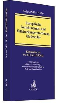 Europäische Gerichtsstands- und Vollstreckungsverordnung (Brüssel Ia)