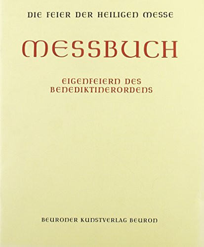 Messbuch (Altarausgabe)