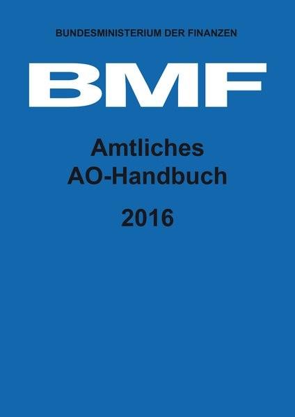 Amtliches AO-Handbuch 2016