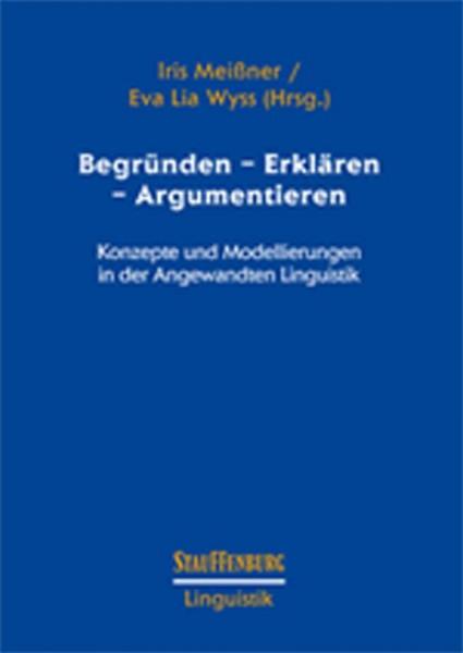Begründen - Erklären - Argumentieren